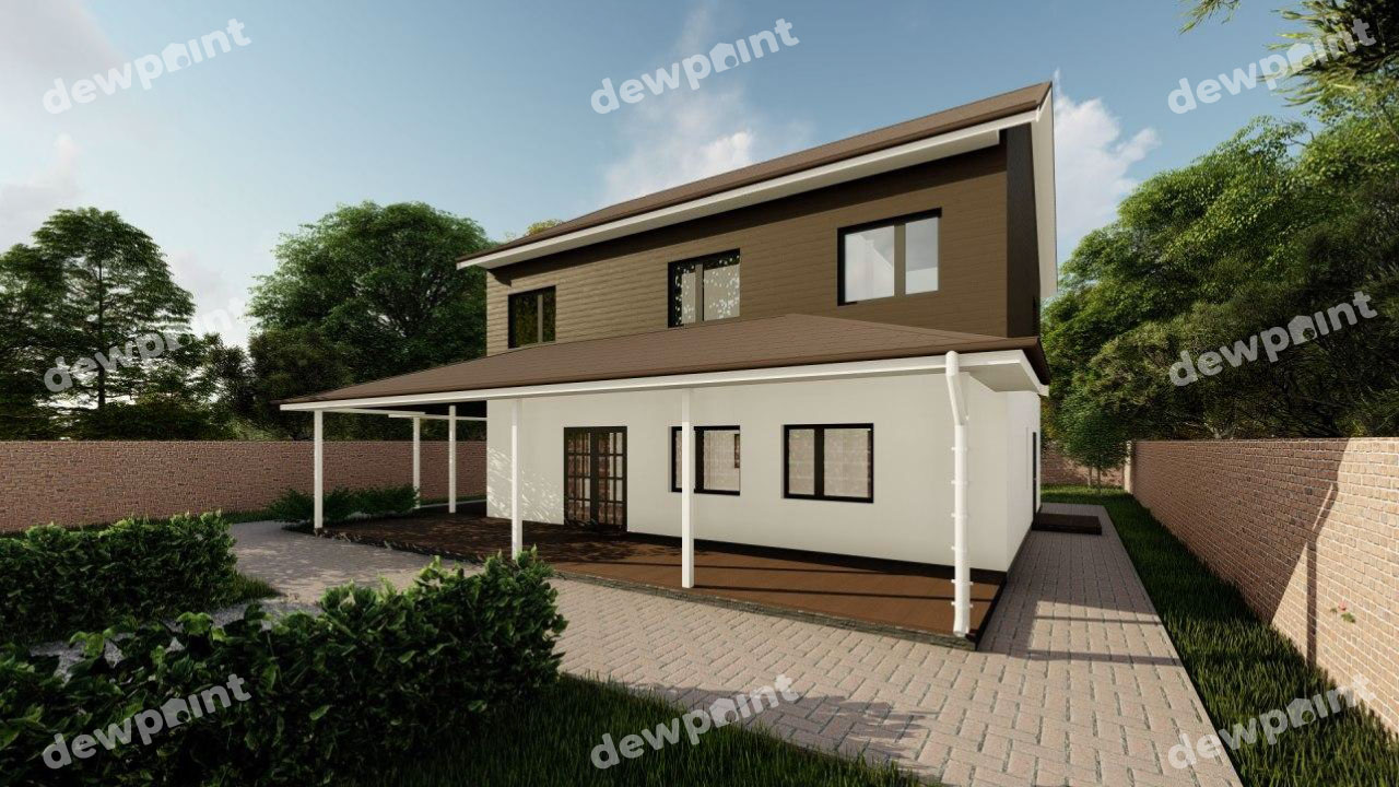 Проект дома ДП-31 фото 14345