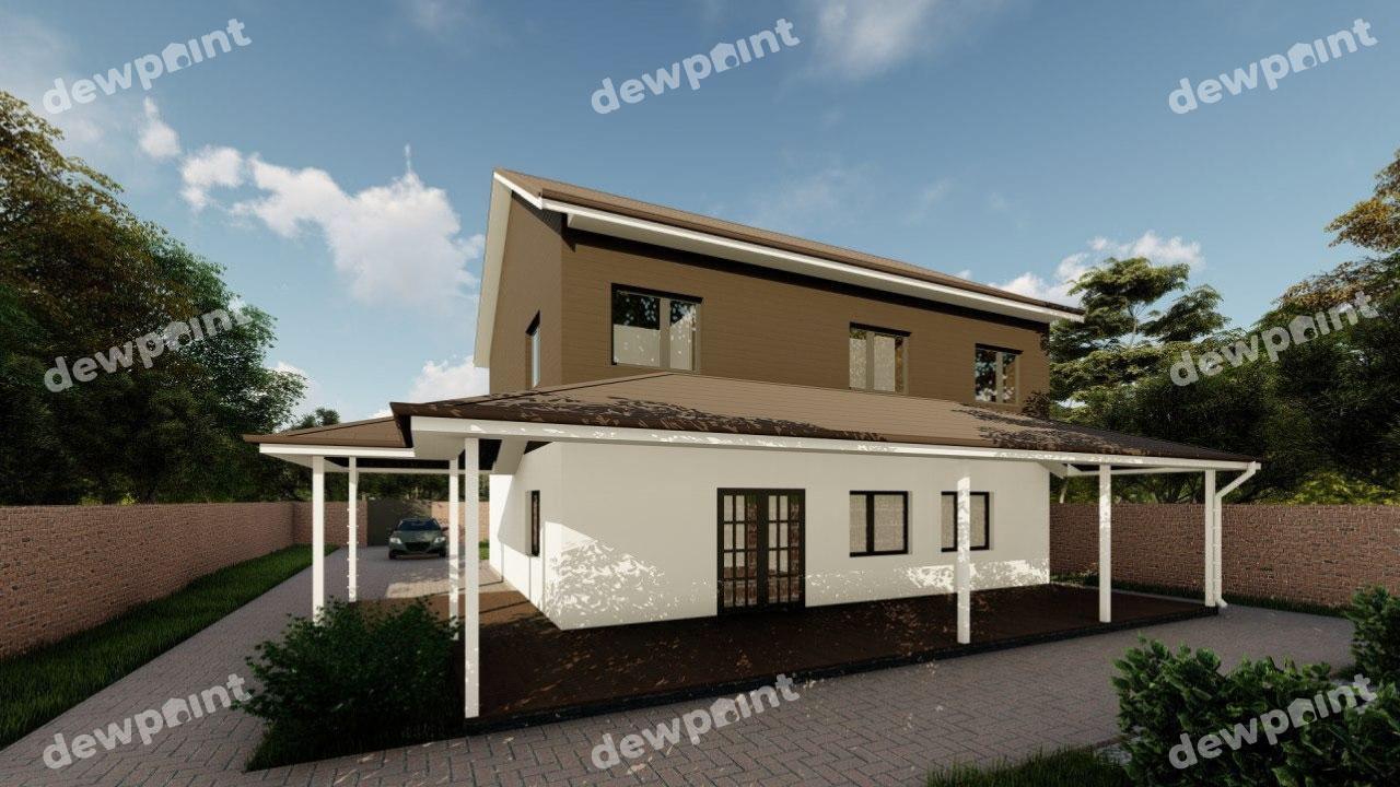 Проект дома ДП-31 фото 14346