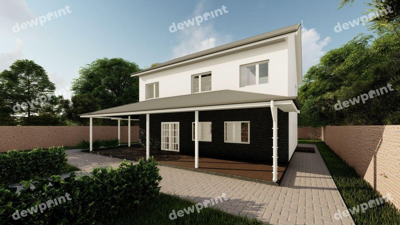 Проект дома ДП-30 фото 264428