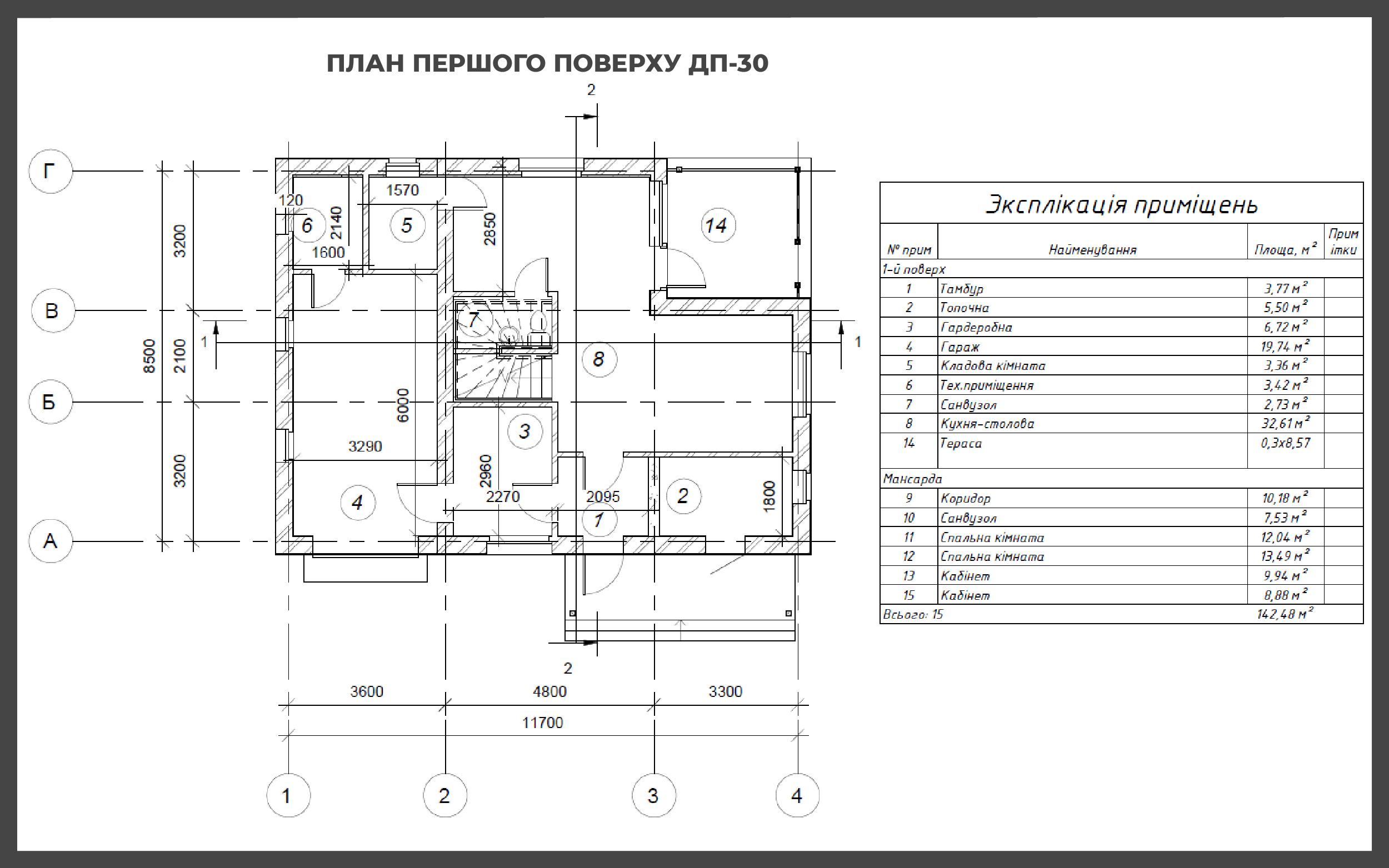 Проект дома ДП-30 фото 29889