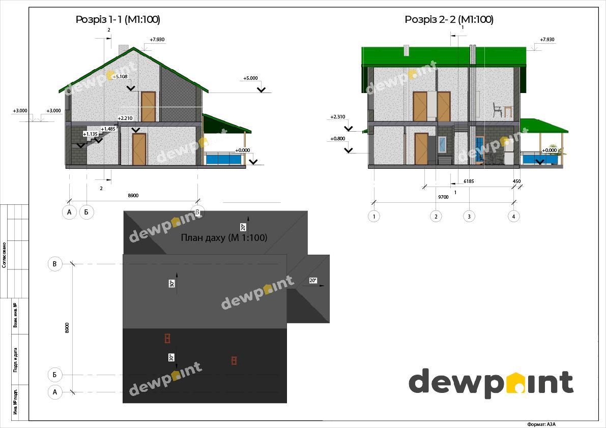 Проект дома ДП-31 фото 14351