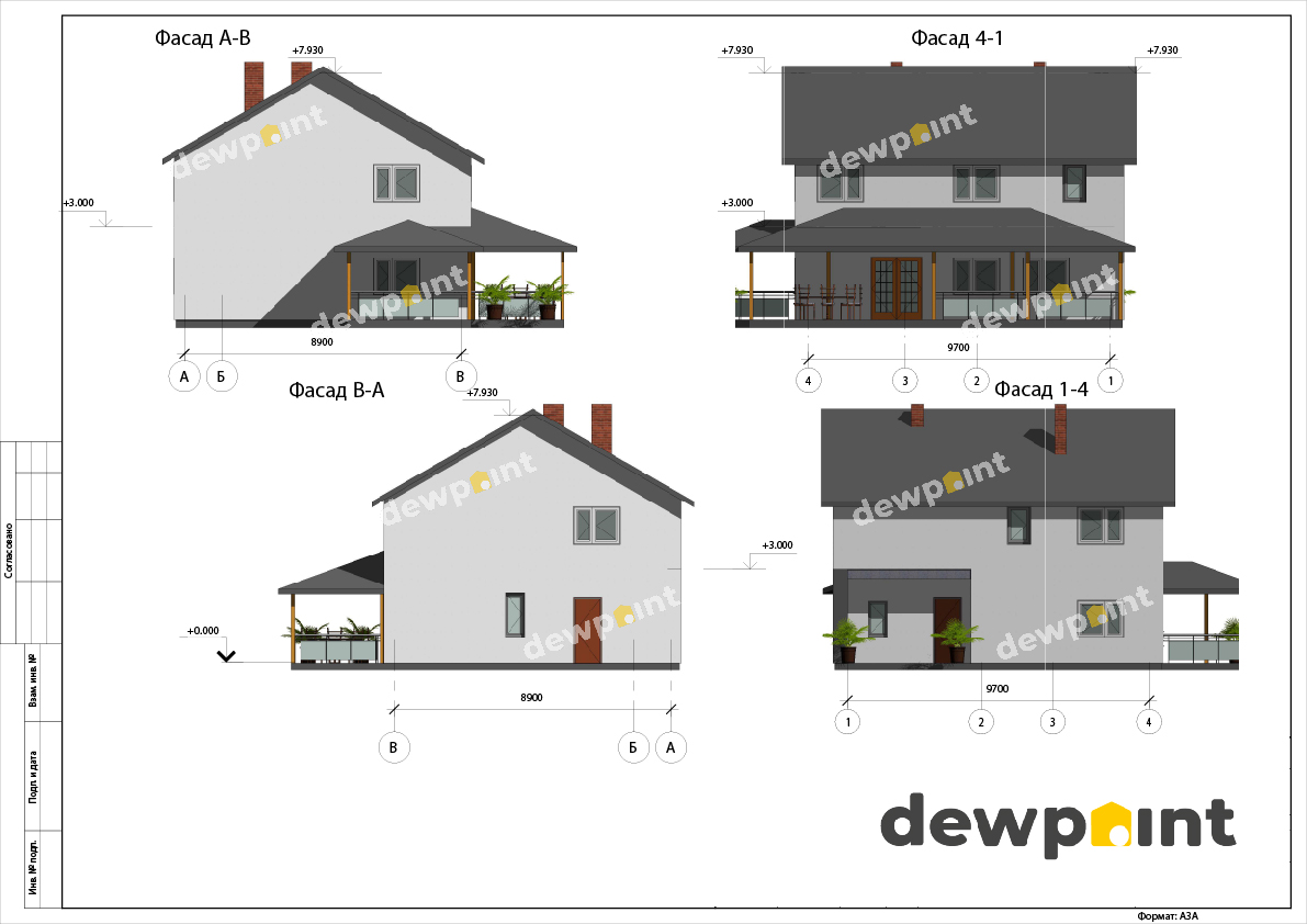 Проект дома ДП-31 фото 14352