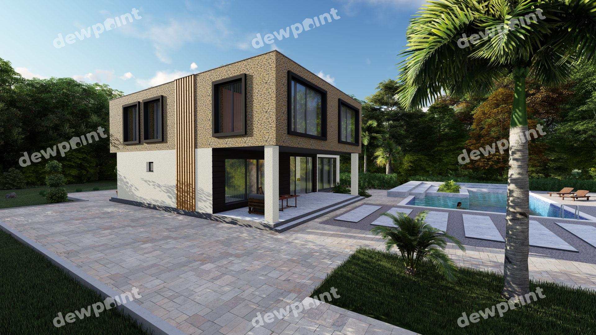 Проект дома ДП-32 фото 14350