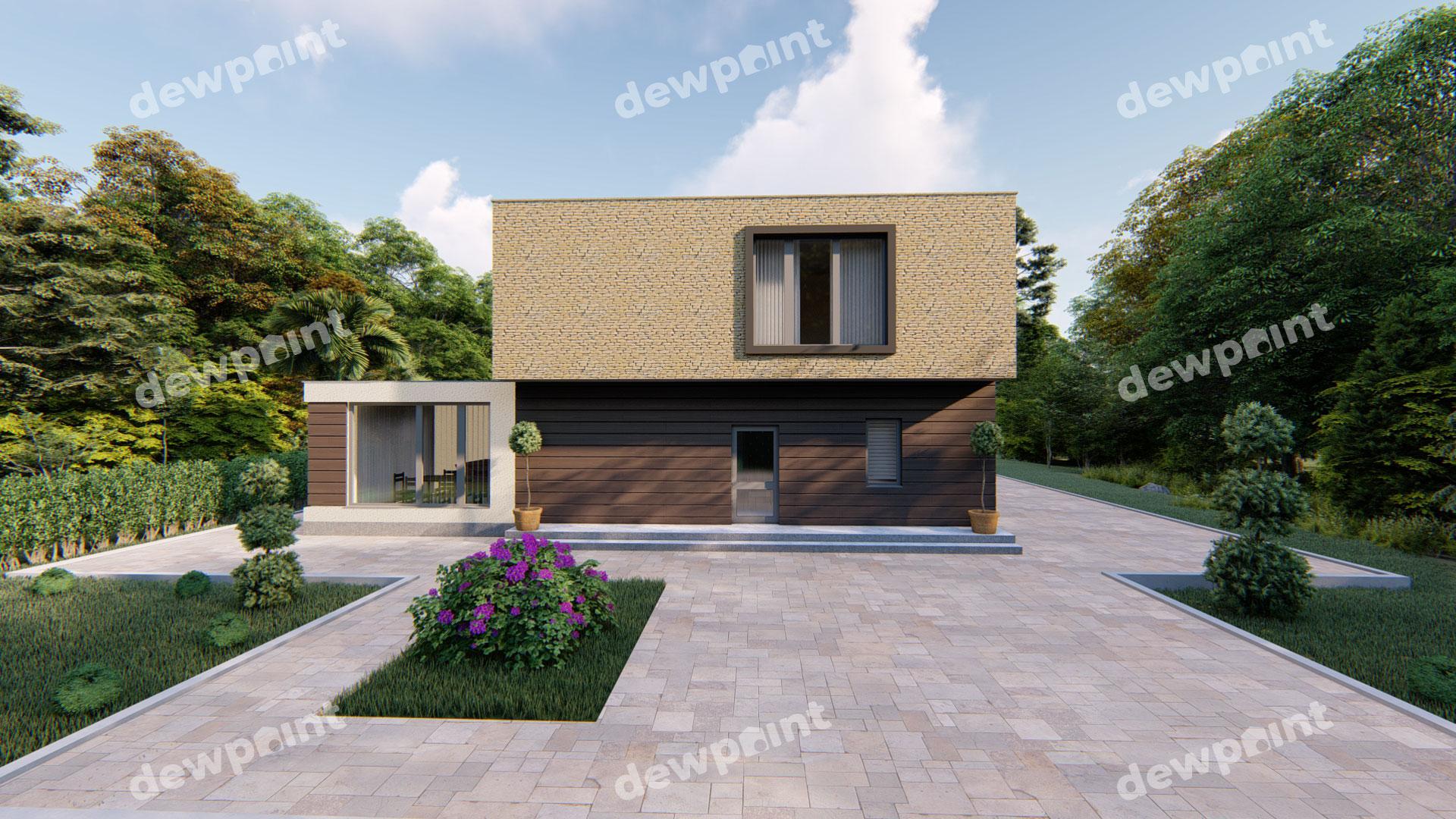 Проект дома ДП-32 фото 14352