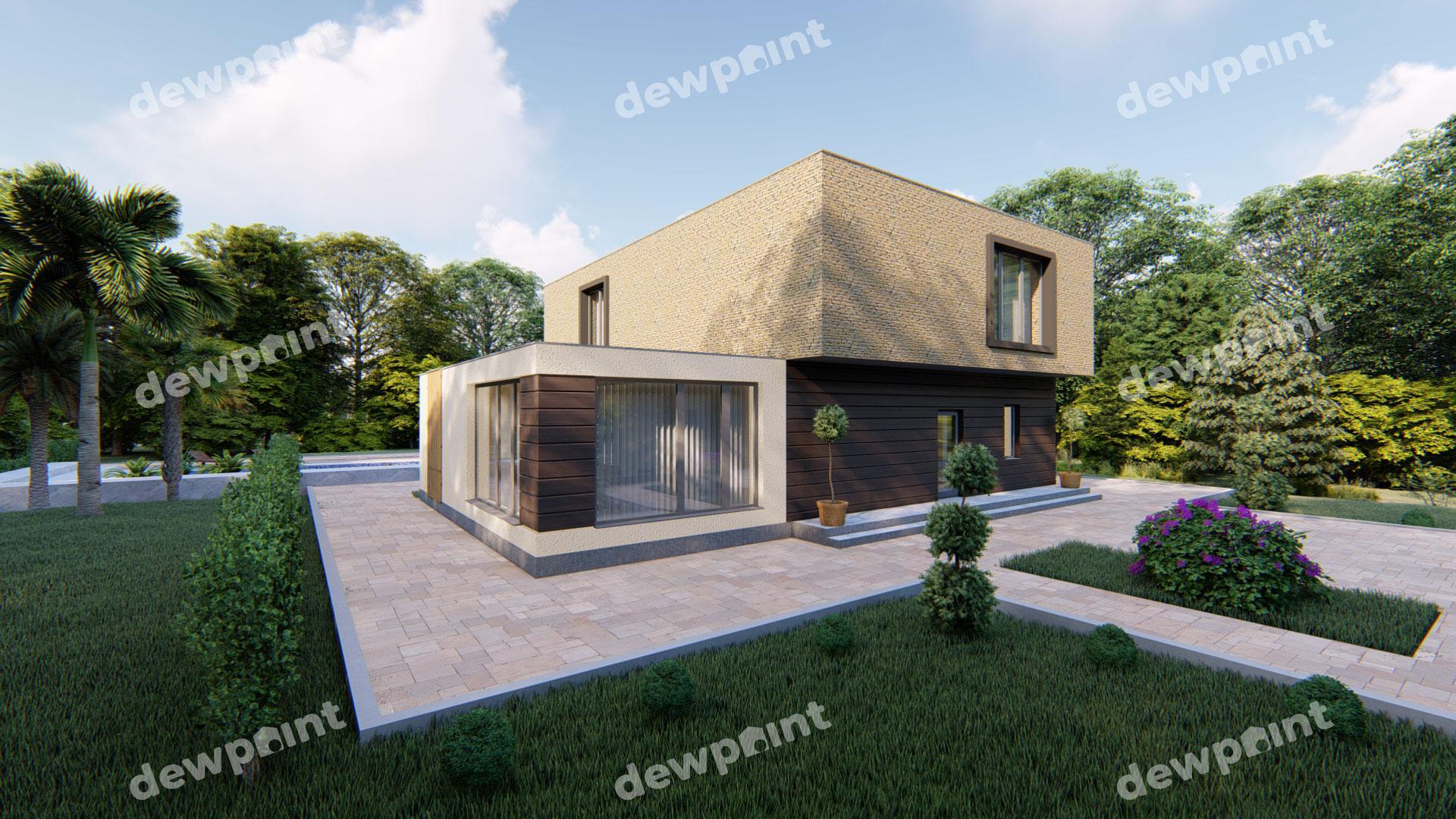 Проект дома ДП-32 фото 14353