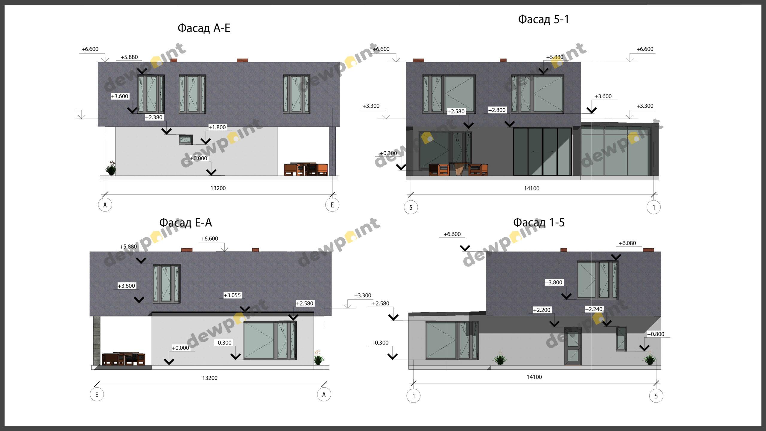 Проект дома ДП-32 фото 14356