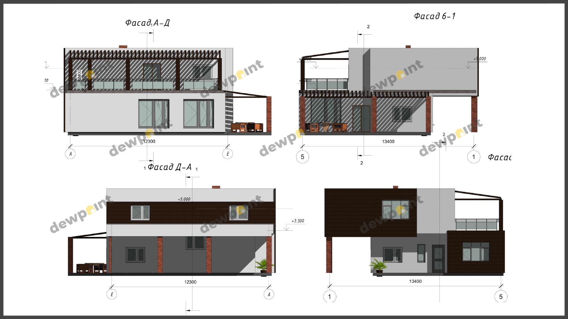 Проект дома ДП-34 фото 14387