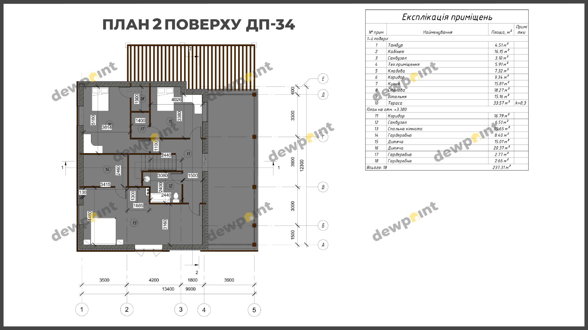 Проект дома ДП-34 фото 14386
