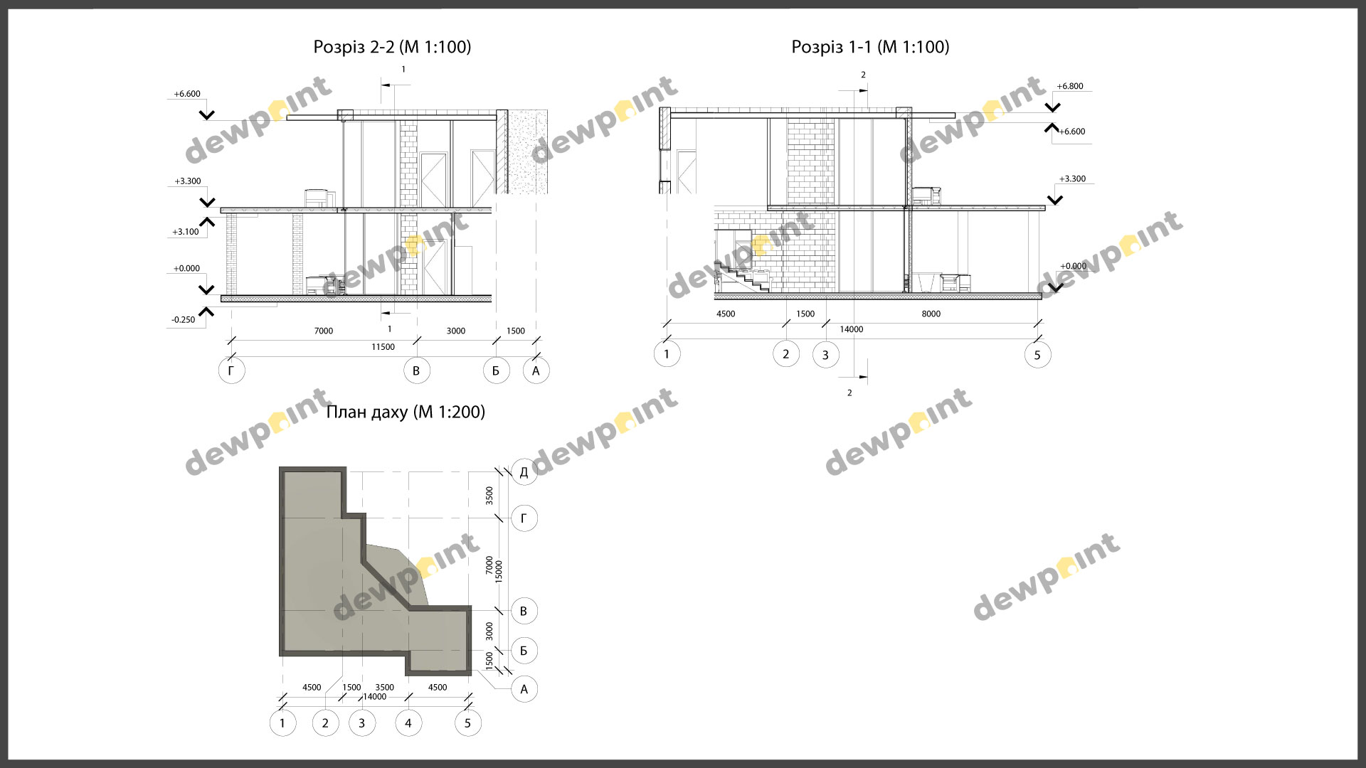 Проект дома ДП-33 фото 261484