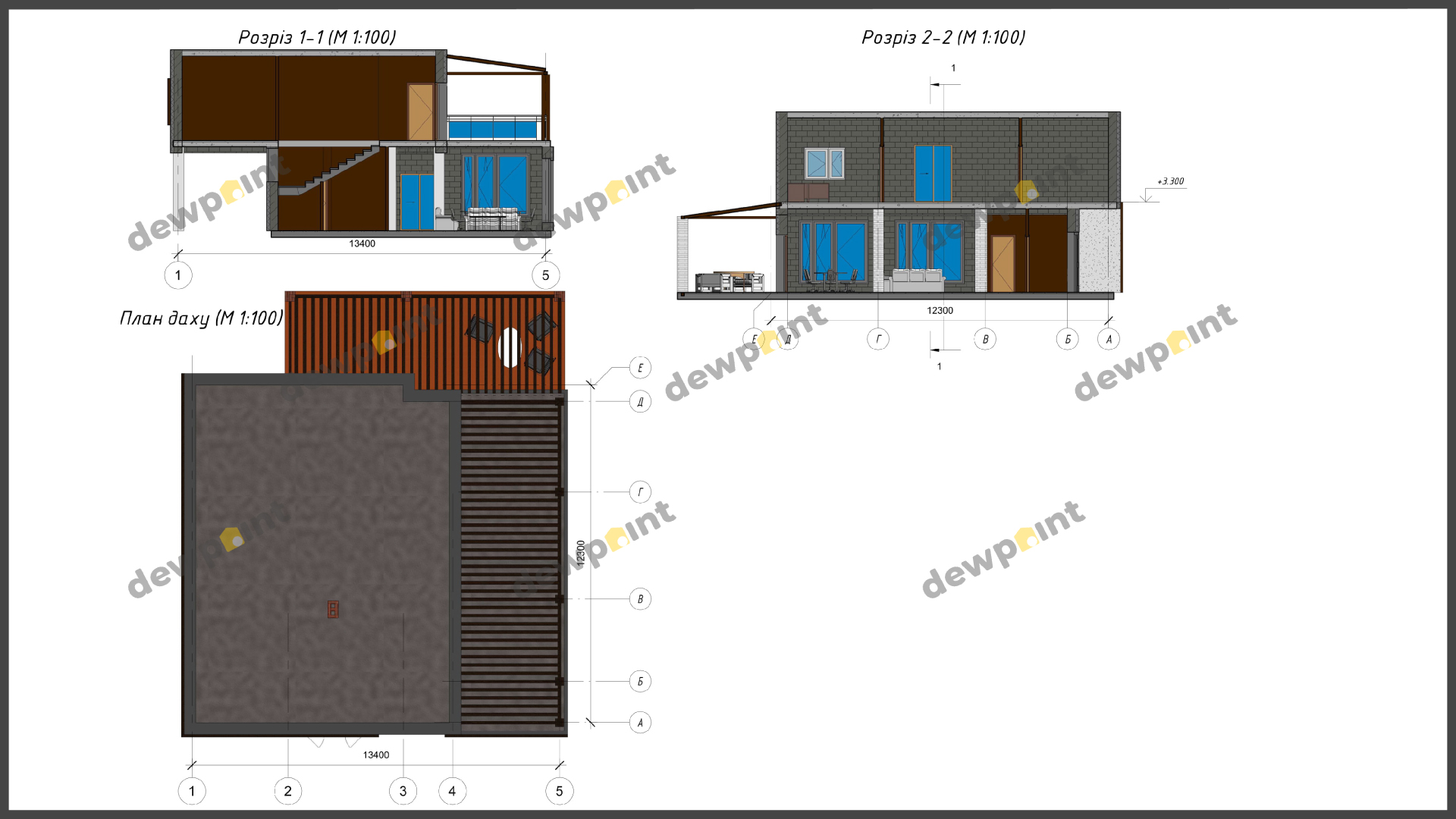 Проект дома ДП-34 фото 14388