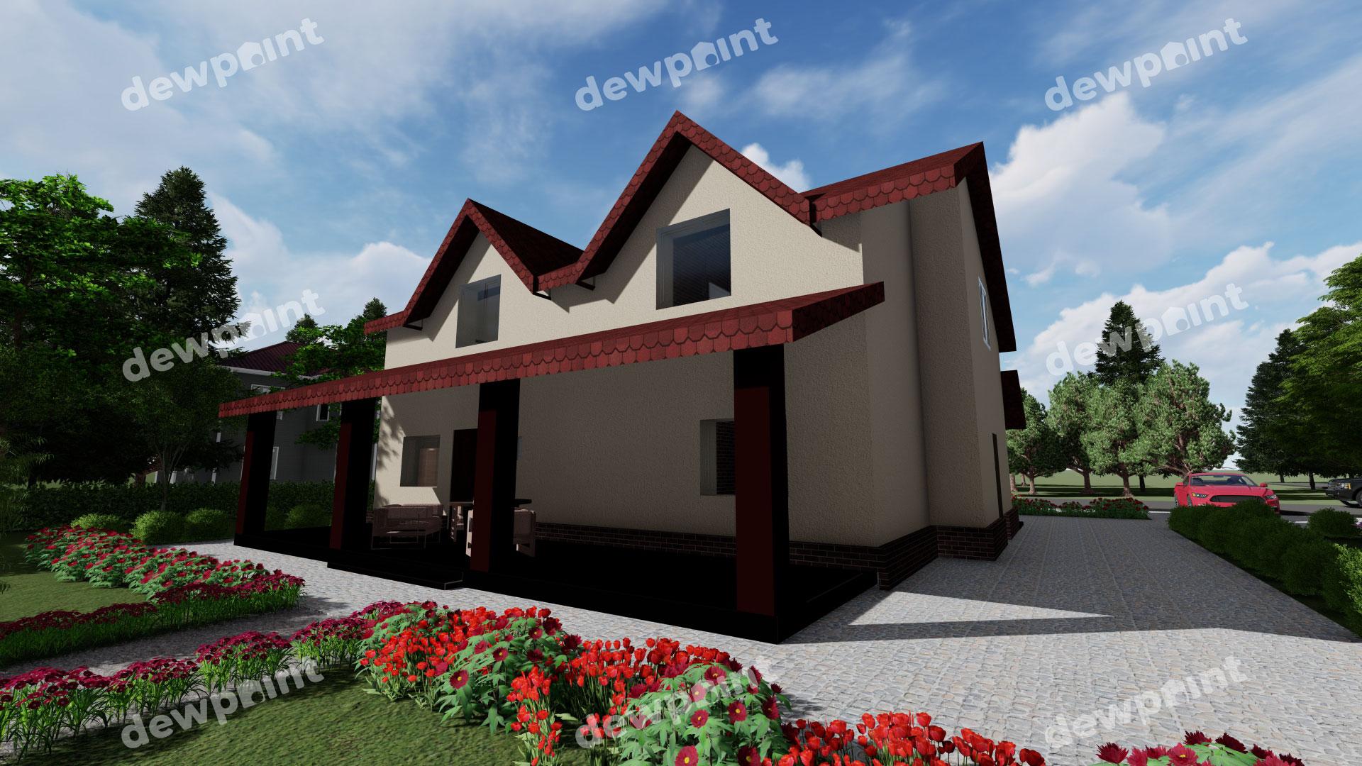 Проект дома ДП-35 фото 592703
