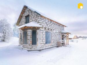 Можно ли строить дом зимой? фото 58779