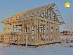 Можно ли строить дом зимой? фото 58784