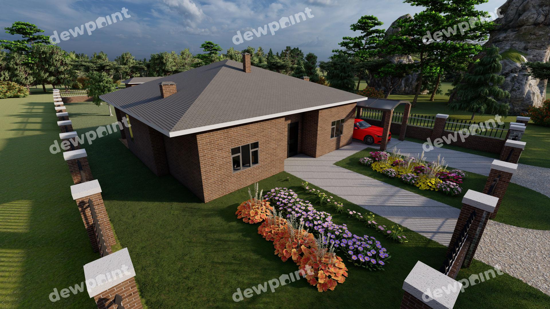 Проект дома ДП-38 фото 267925