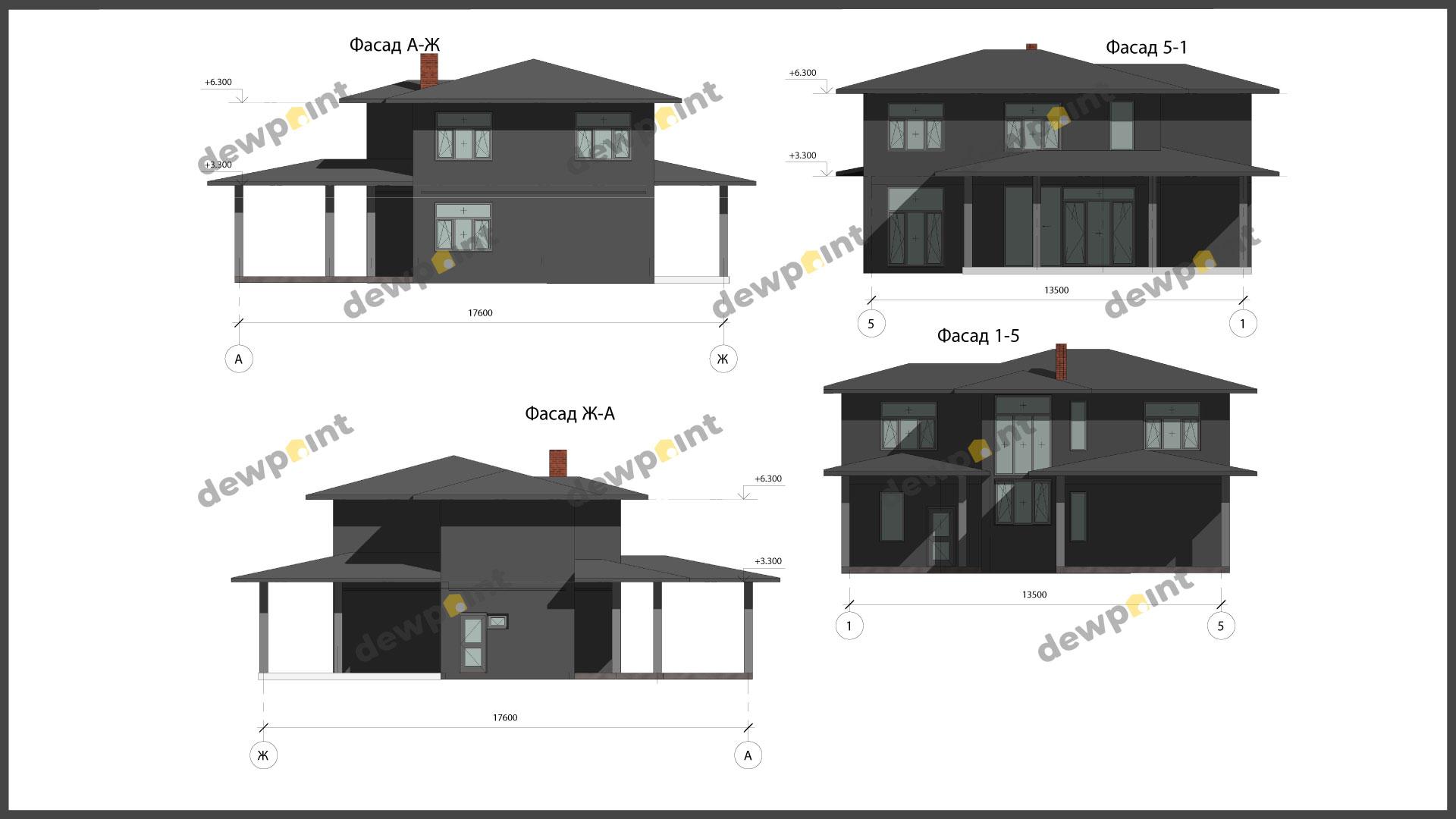 Проект дома ДП-36 фото 604092
