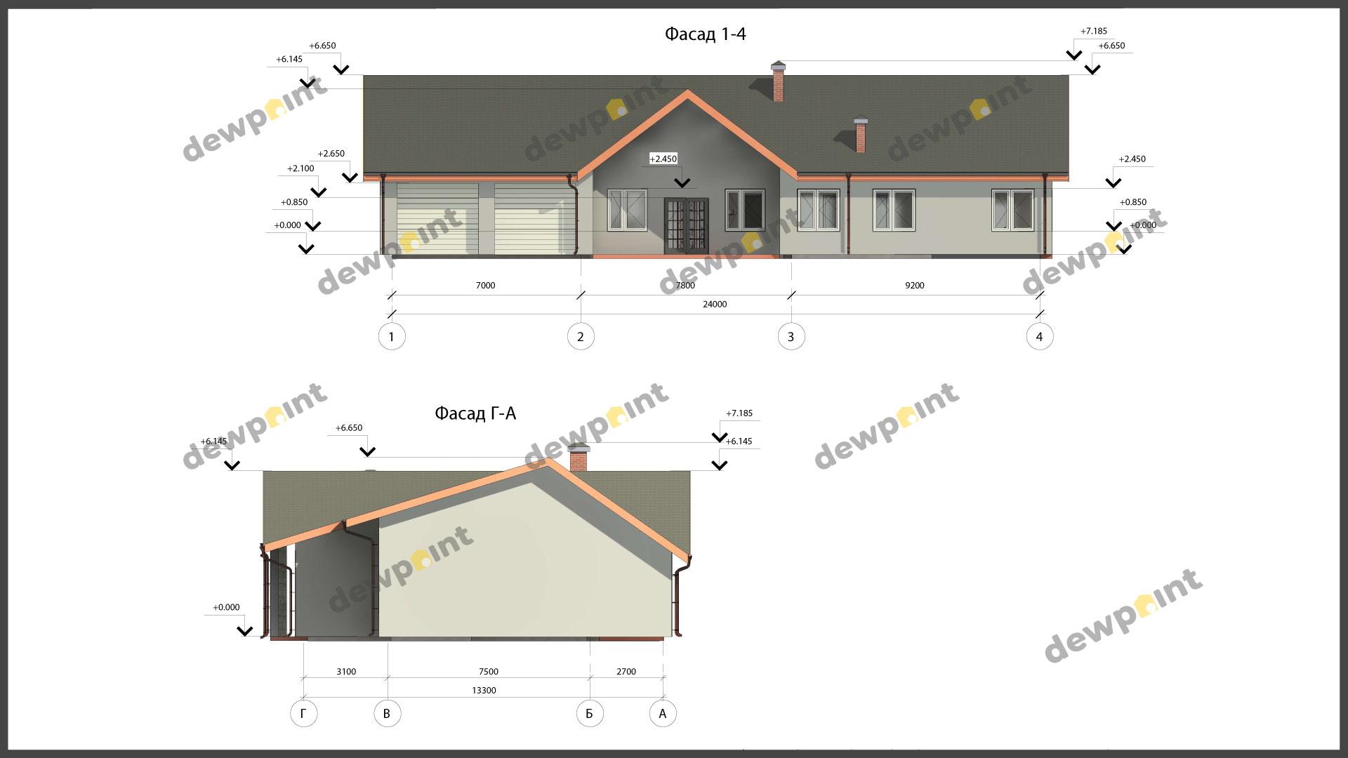 Проект дома ДП-39 фото 9844