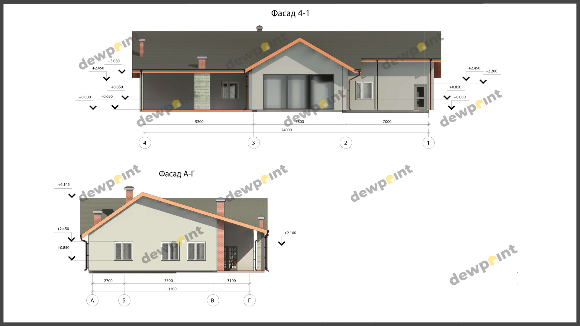 Проект дома ДП-39 фото 9843