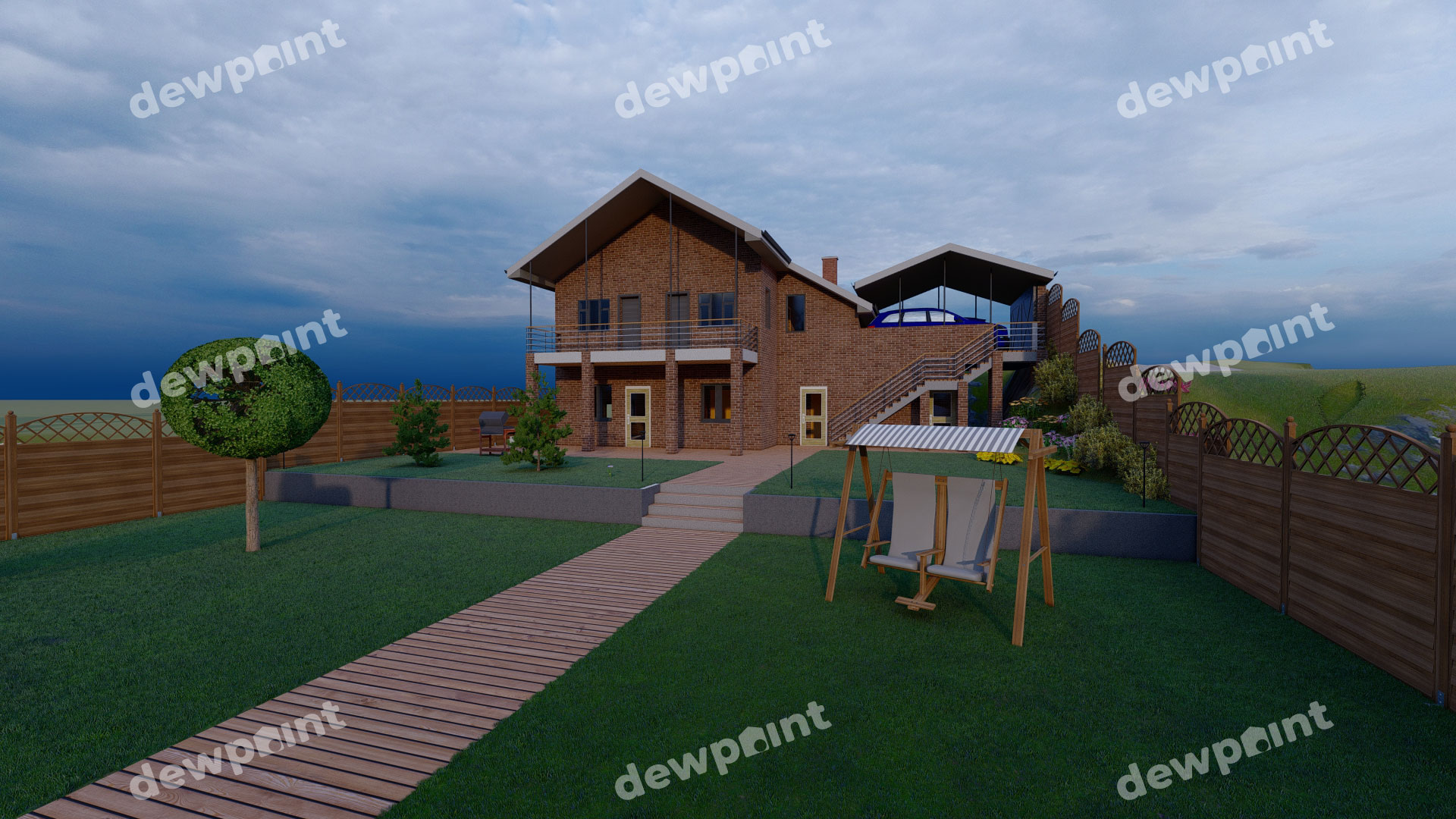 Проект дома ДП-37 фото 7893