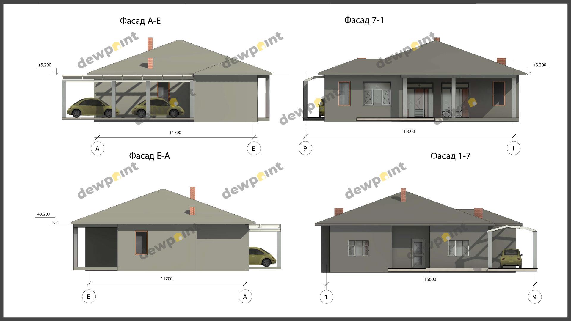 Проект дома ДП-38 фото 267929
