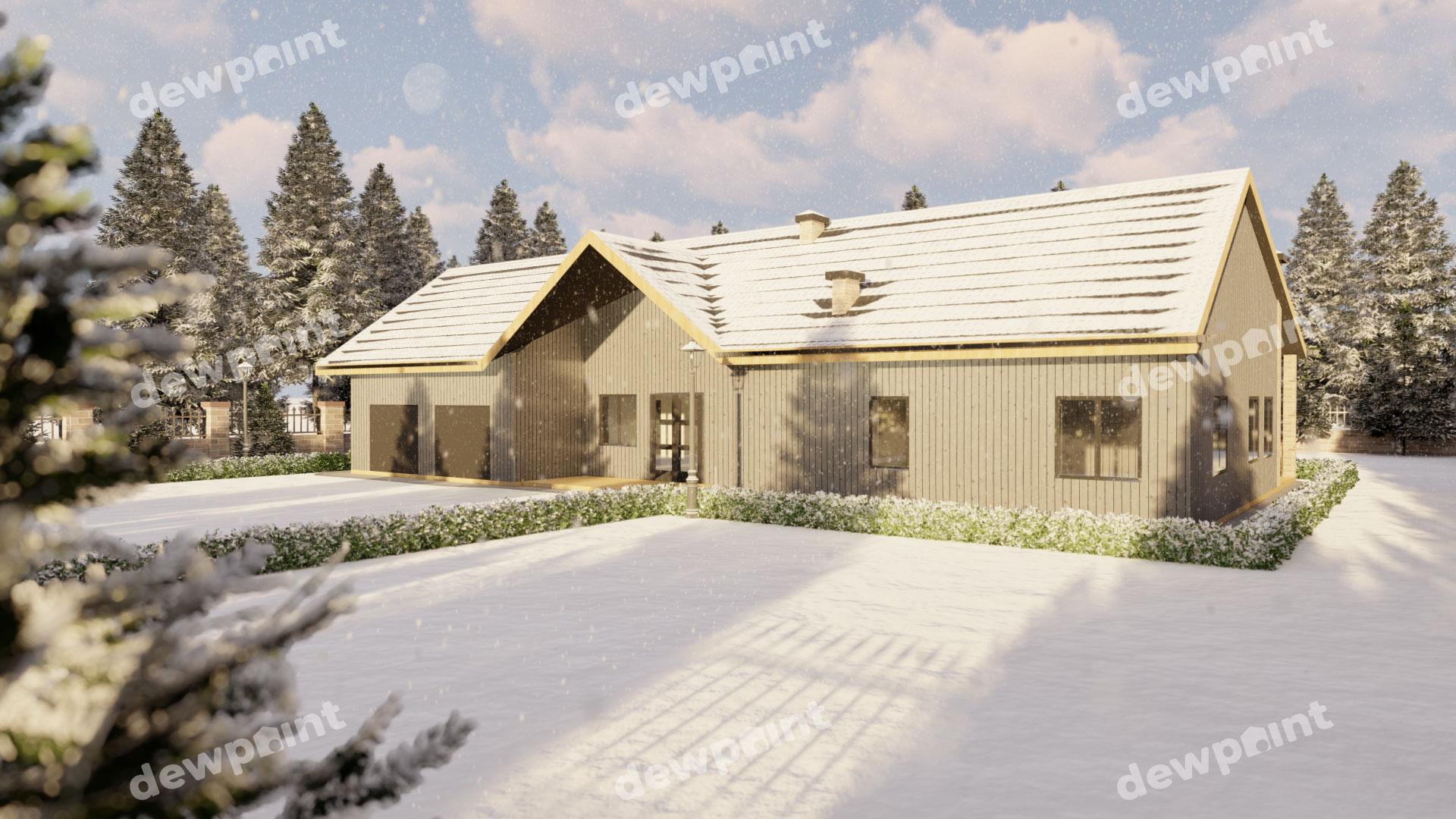 Проект дома ДП-39 фото 9837