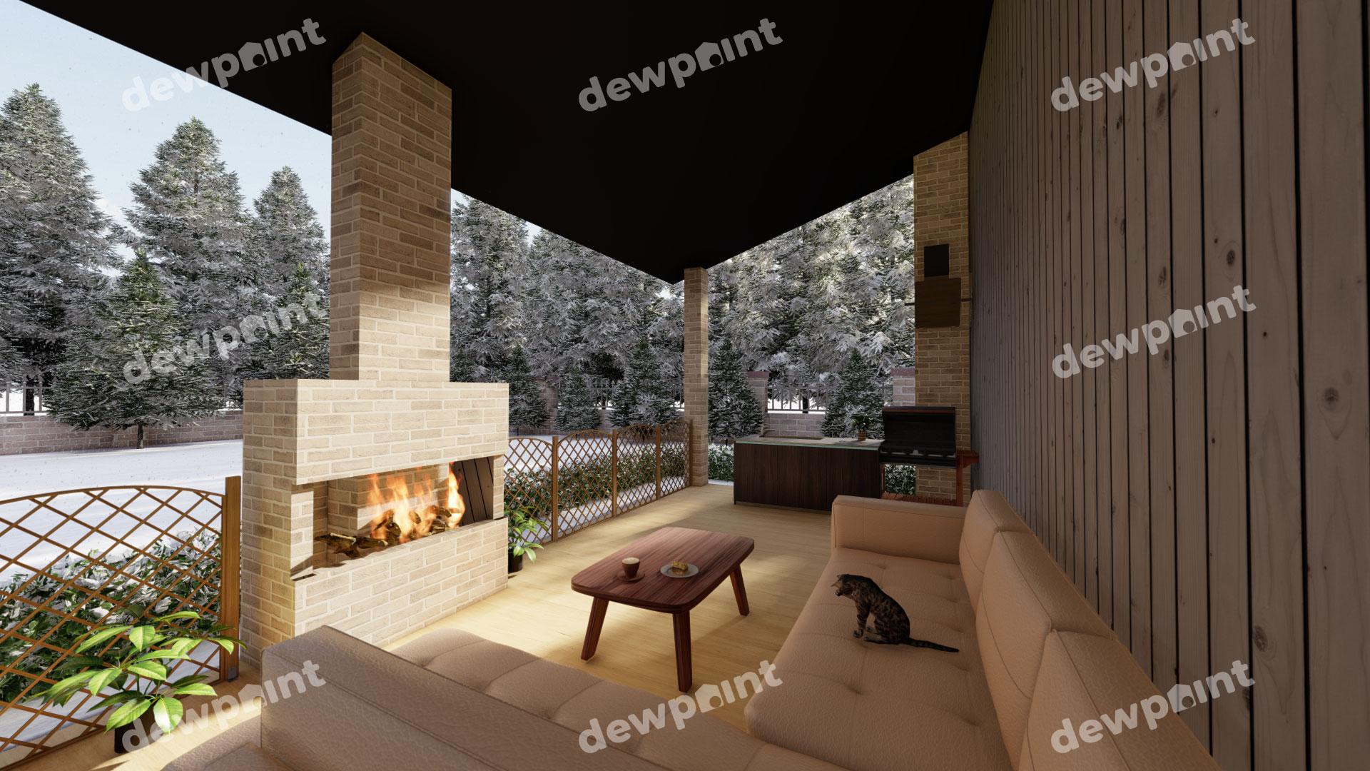 Проект дома ДП-39 фото 9840