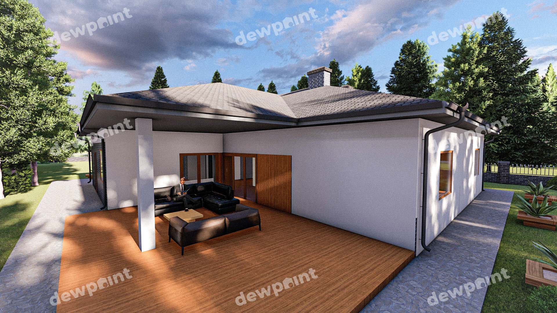 Проект дома ДП-40 фото 268099