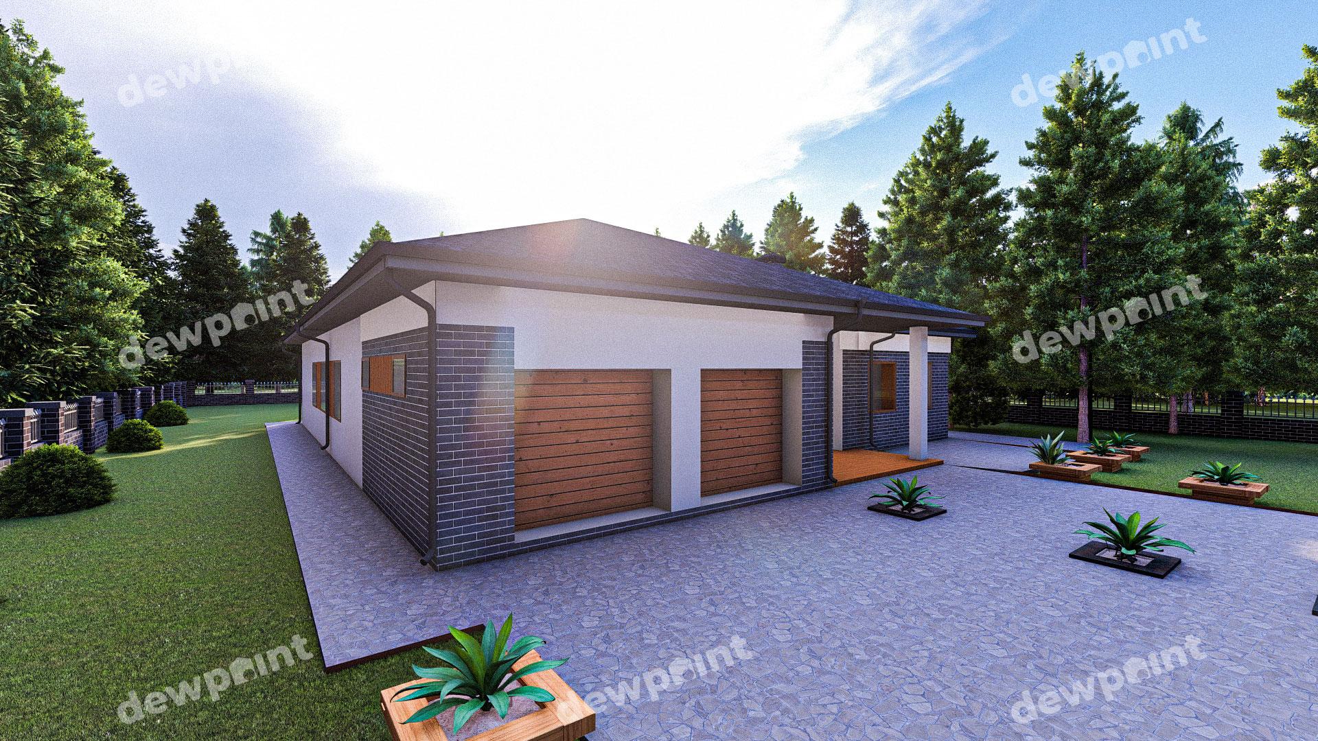 Проект дома ДП-40 фото 268108