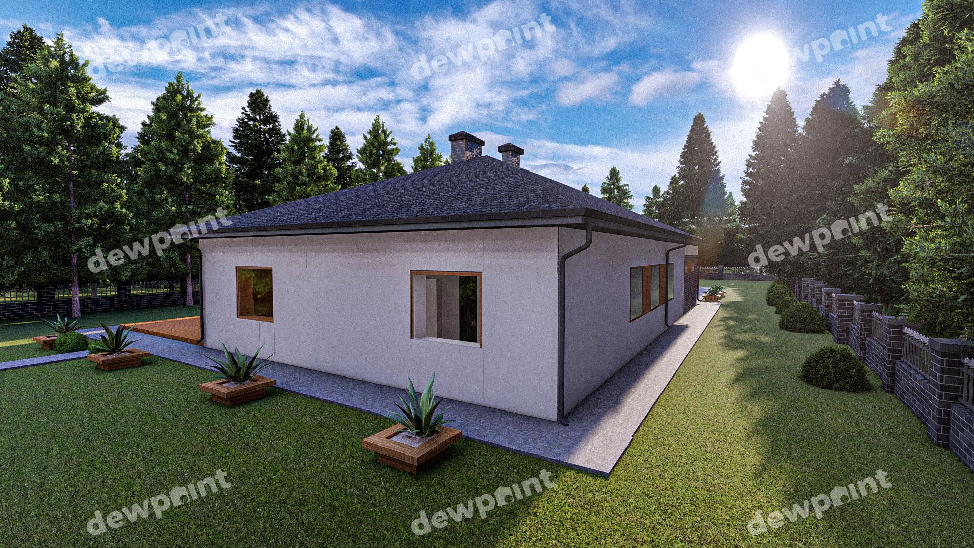 Проект дома ДП-40 фото 268107