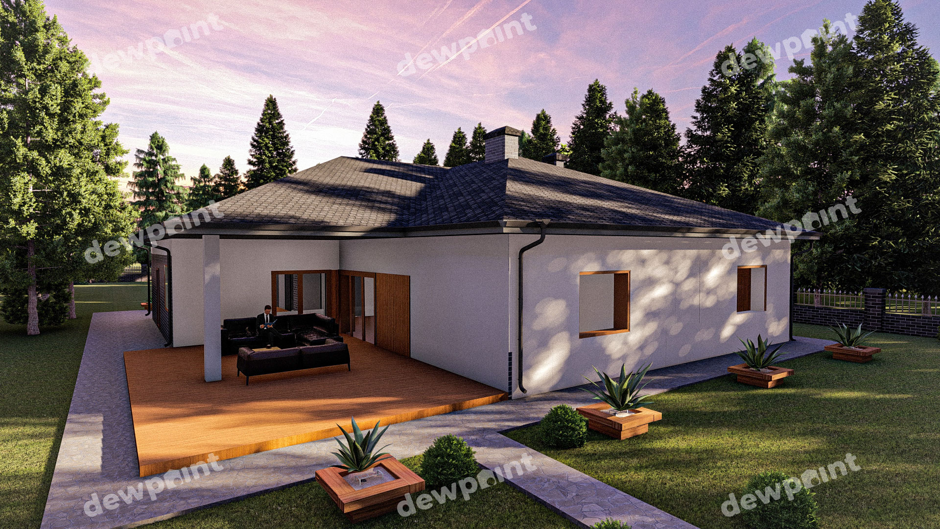 Проект дома ДП-40 фото 268104