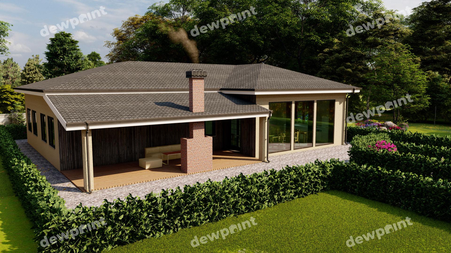 Проект дома ДП-42 фото 266594