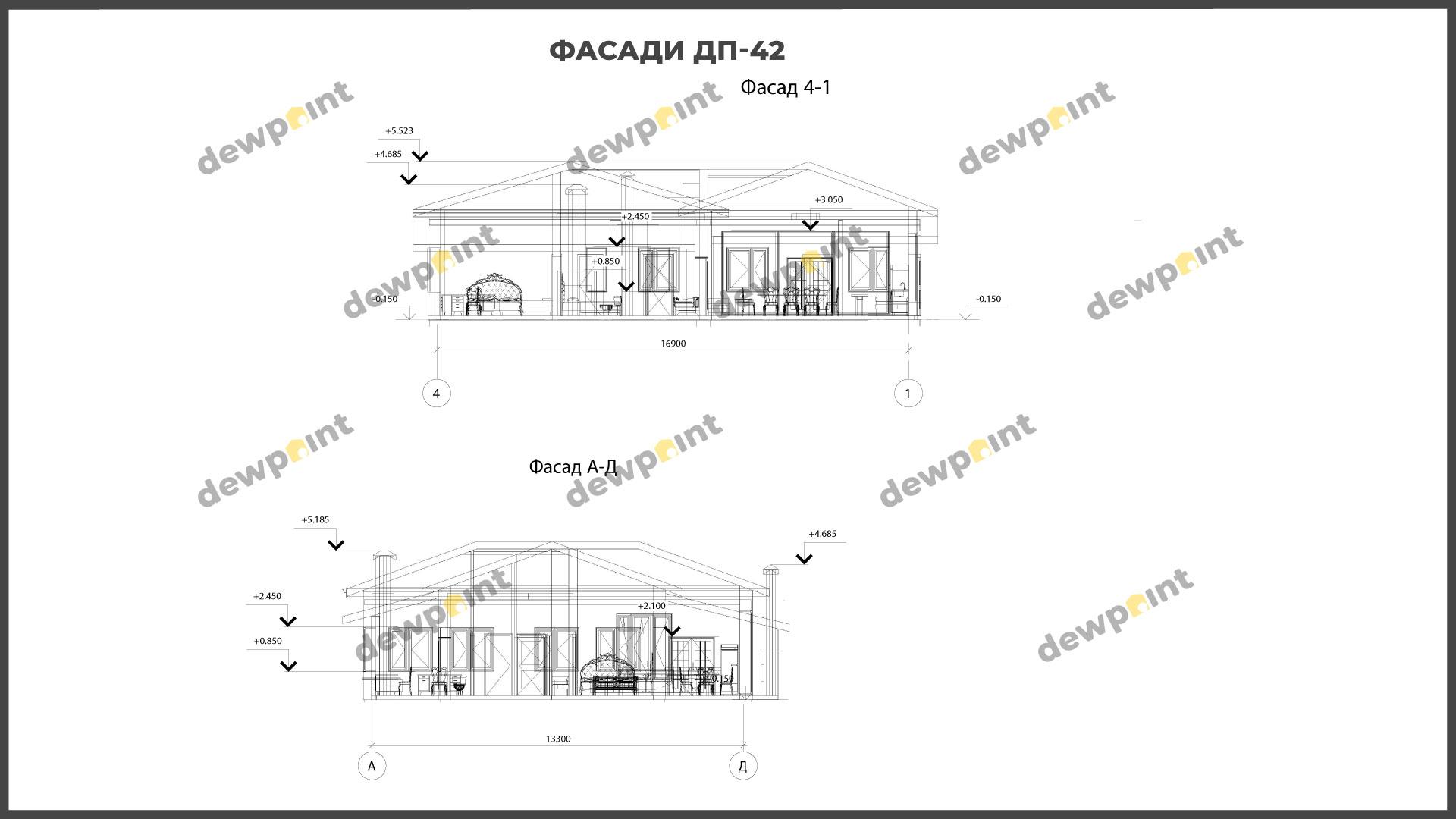 Проект дома ДП-42 фото 266596