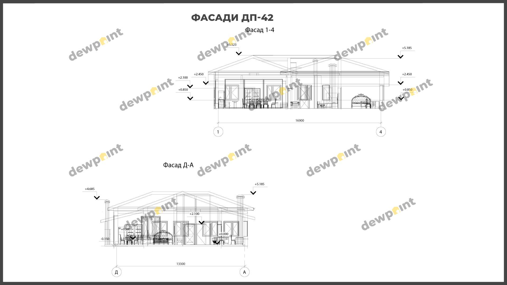 Проект дома ДП-42 фото 266597