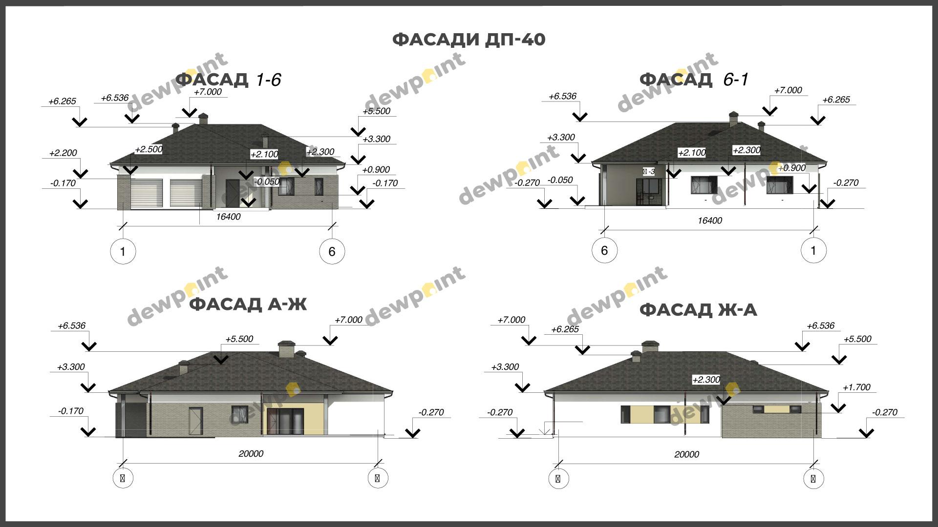 Проект дома ДП-40 фото 268112