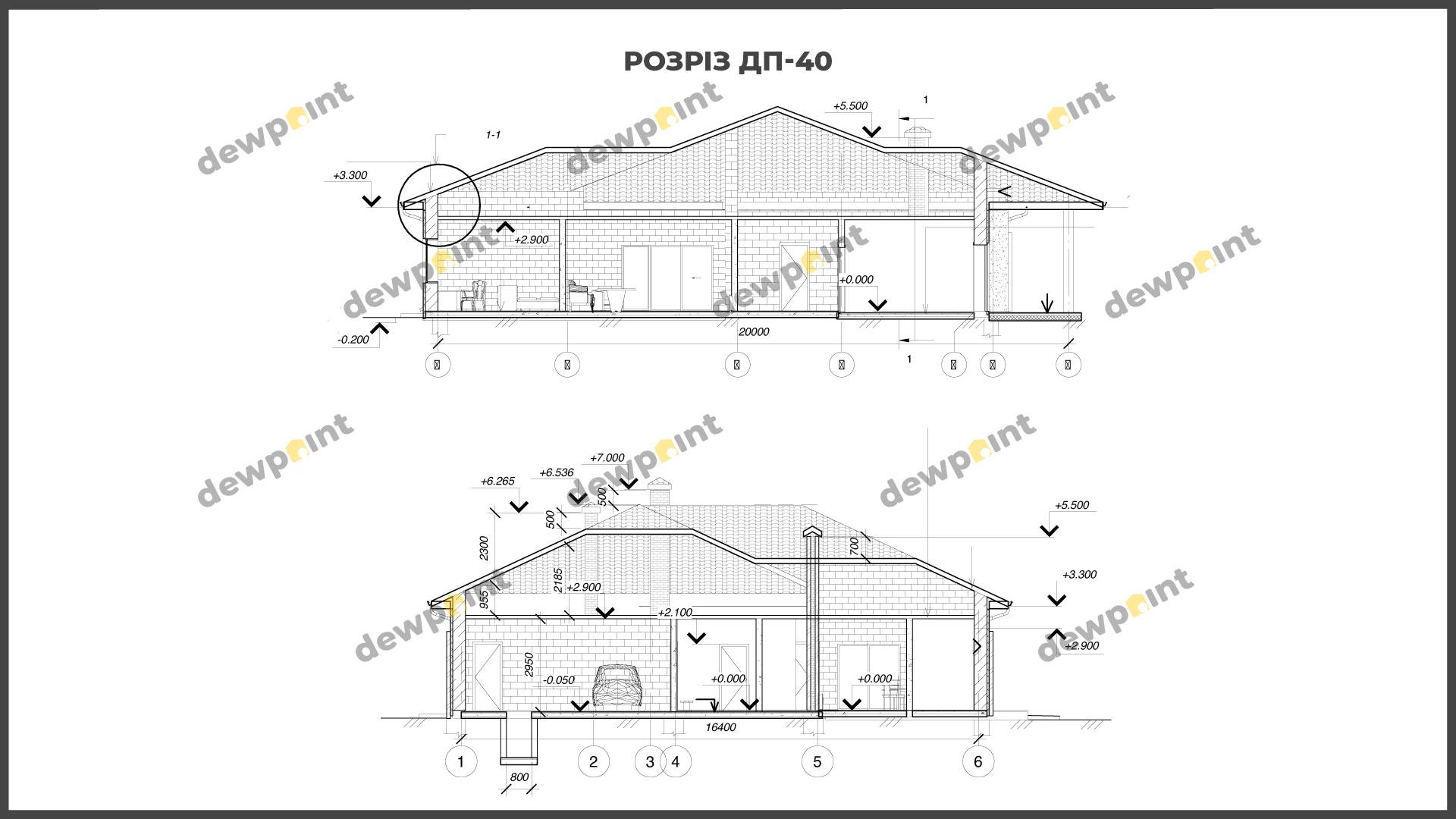 Проект дома ДП-40 фото 268113