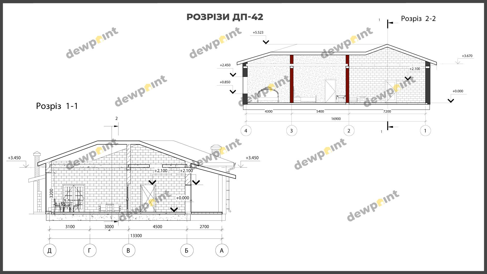 Проект дома ДП-42 фото 266598